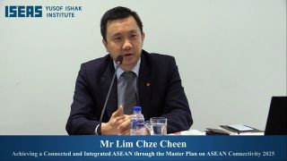 Lecture: Achieving a Connected and Integrated ASEAN through the Master Plan on ASEAN Connectivity 2025