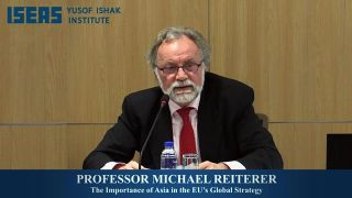 Lecture: The Importance of Asia in the EU's Global Strategy